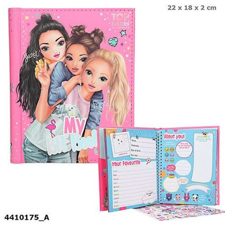 TOP Model My BFF Book (NEW)